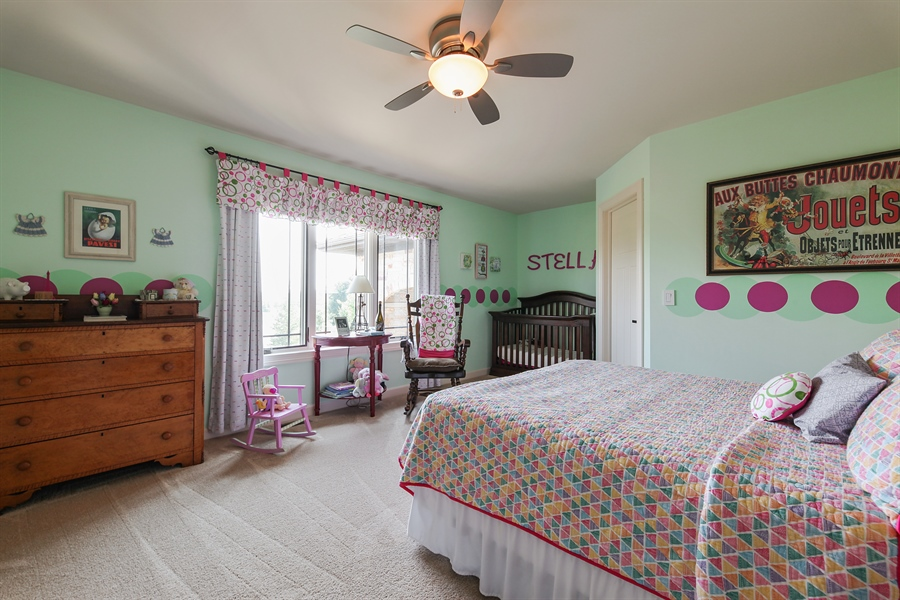 Real Estate Photography - 10 W Peter Ln, Hawthorn Woods, IL, 60047 - 2nd Bedroom