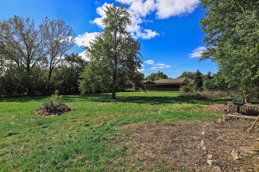Real Estate Photography - 15105 W Buckley Rd, Libertyville, IL, 60048 - Back Yard