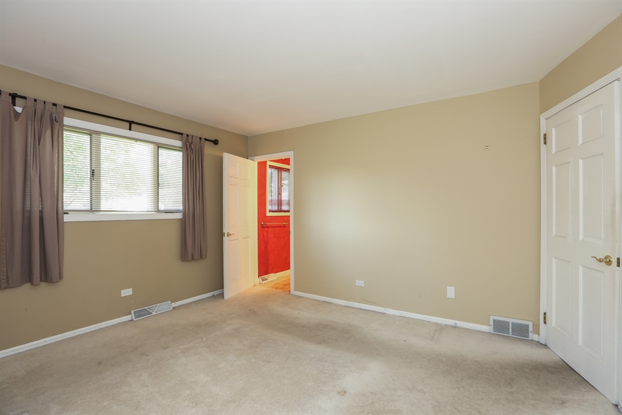 Real Estate Photography - 838 S. Villa Ave., Villa Park, IL, 60181 - Master Bedroom