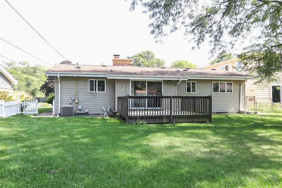 Real Estate Photography - 838 S. Villa Ave., Villa Park, IL, 60181 - Back of Home and Yard