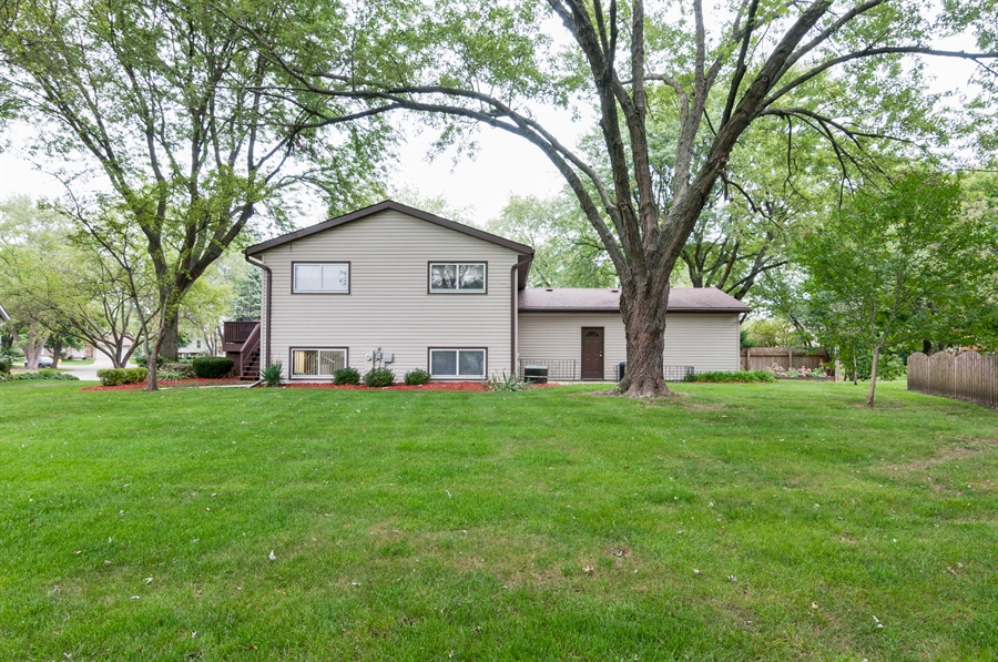 Real Estate Photography - 2280 Durham Dr, Wheaton, IL, 60189 - Rear View