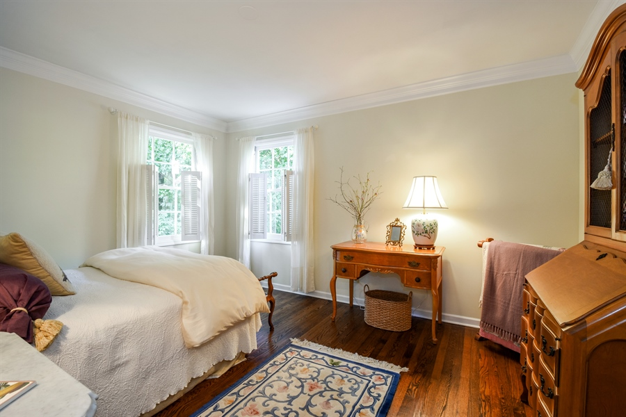 Real Estate Photography - 20 Ashbury Lane, Barrington Hills, IL, 60010 - 4th Bedroom