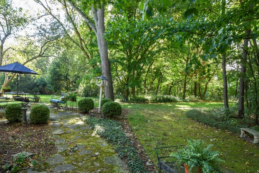 Real Estate Photography - 20 Ashbury Lane, Barrington Hills, IL, 60010 - Back Yard