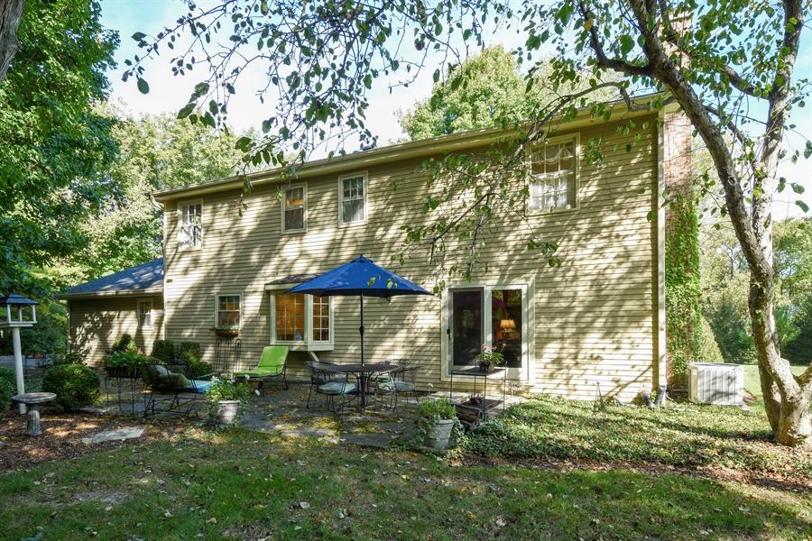 Real Estate Photography - 20 Ashbury Lane, Barrington Hills, IL, 60010 - Rear View