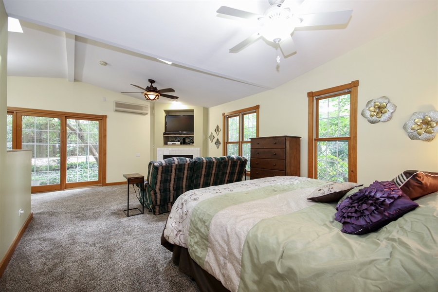 Real Estate Photography - 220 Rust, Willow Springs, IL, 60480 - Master Bedroom