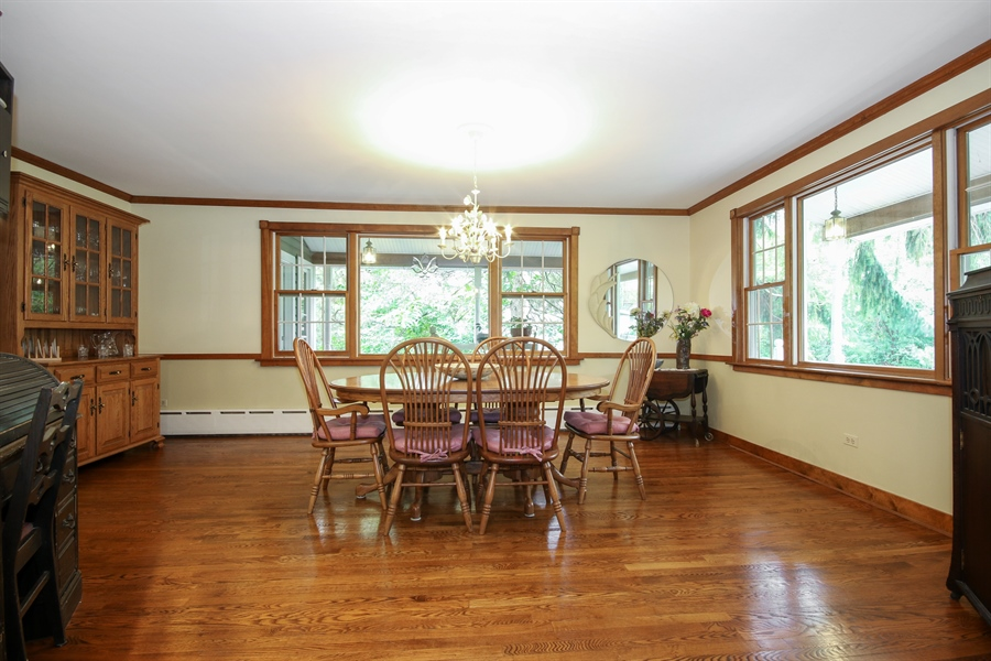 Real Estate Photography - 220 Rust, Willow Springs, IL, 60480 - Dining Room
