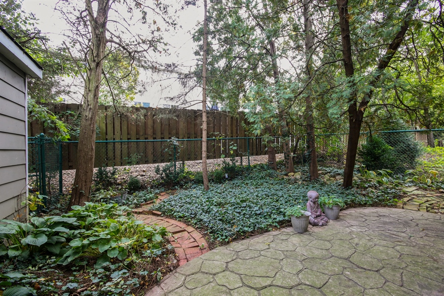 Real Estate Photography - 220 Rust, Willow Springs, IL, 60480 - Back Yard