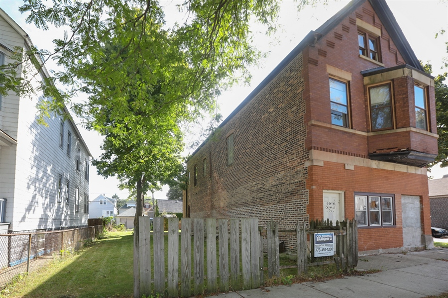 Real Estate Photography - 8559 S Muskegon, Chicago, IL, 60617 - Front View