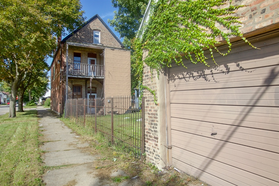 Real Estate Photography - 8559 S Muskegon, Chicago, IL, 60617 - Rear View