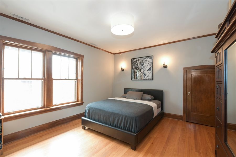 Real Estate Photography - 531 Greenleaf Ave, Wilmette, IL, 60091 - 3rd Bedroom