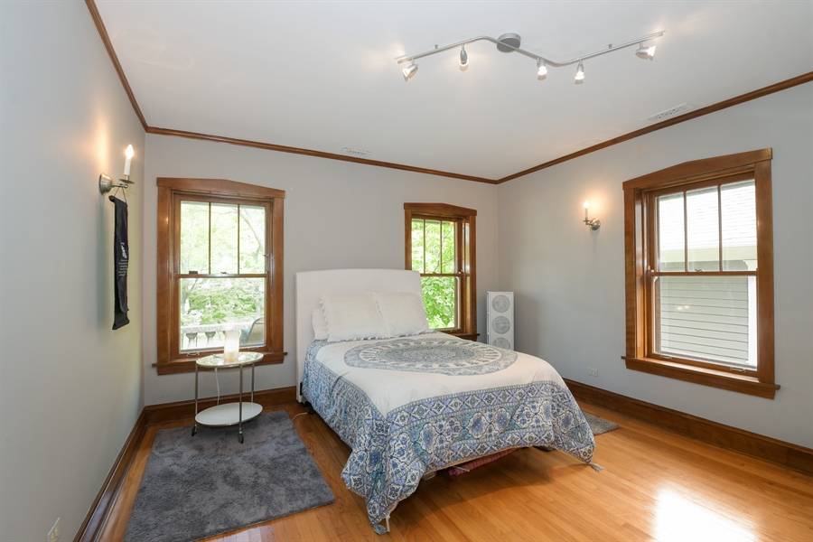Real Estate Photography - 531 Greenleaf Ave, Wilmette, IL, 60091 - 4th Bedroom