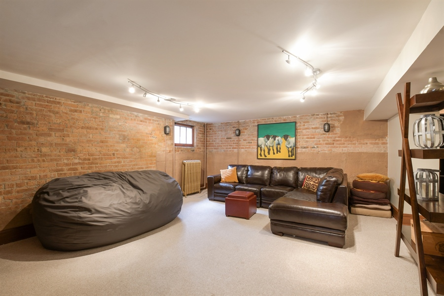 Real Estate Photography - 531 Greenleaf Ave, Wilmette, IL, 60091 - Basement