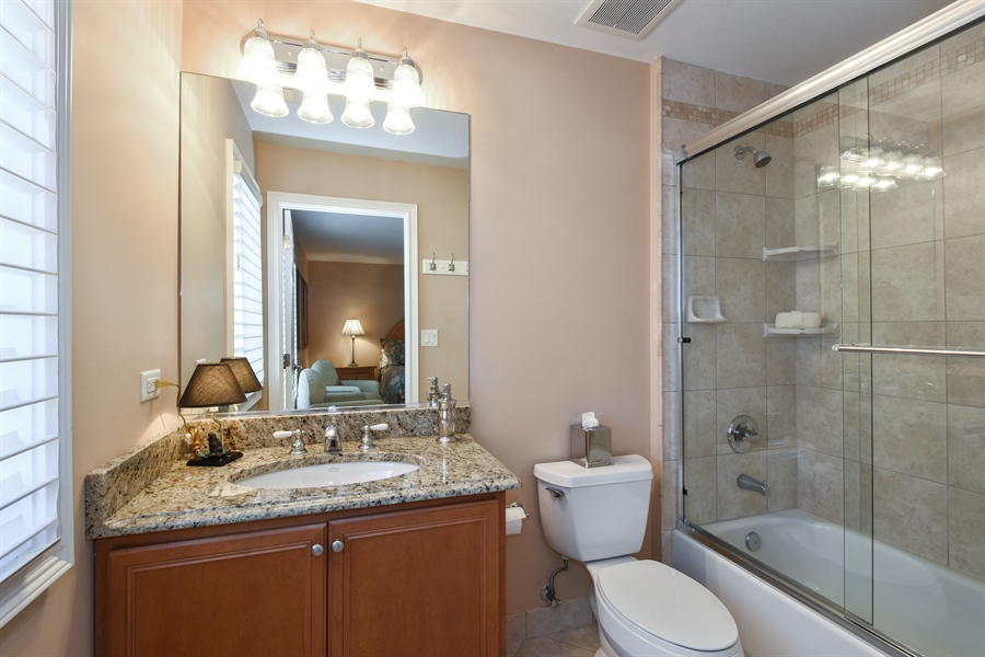 Real Estate Photography - 1012 Ridgeview Drive, Inverness, IL, 60010 - 4th Bathroom