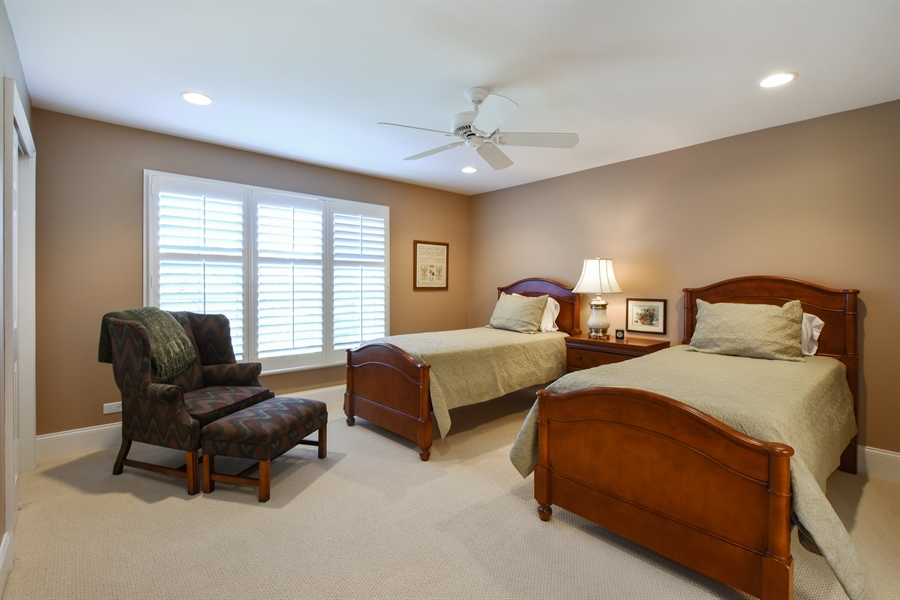 Real Estate Photography - 1012 Ridgeview Drive, Inverness, IL, 60010 - 2nd Bedroom