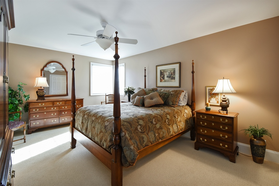 Real Estate Photography - 1012 Ridgeview Drive, Inverness, IL, 60010 - 3rd Bedroom