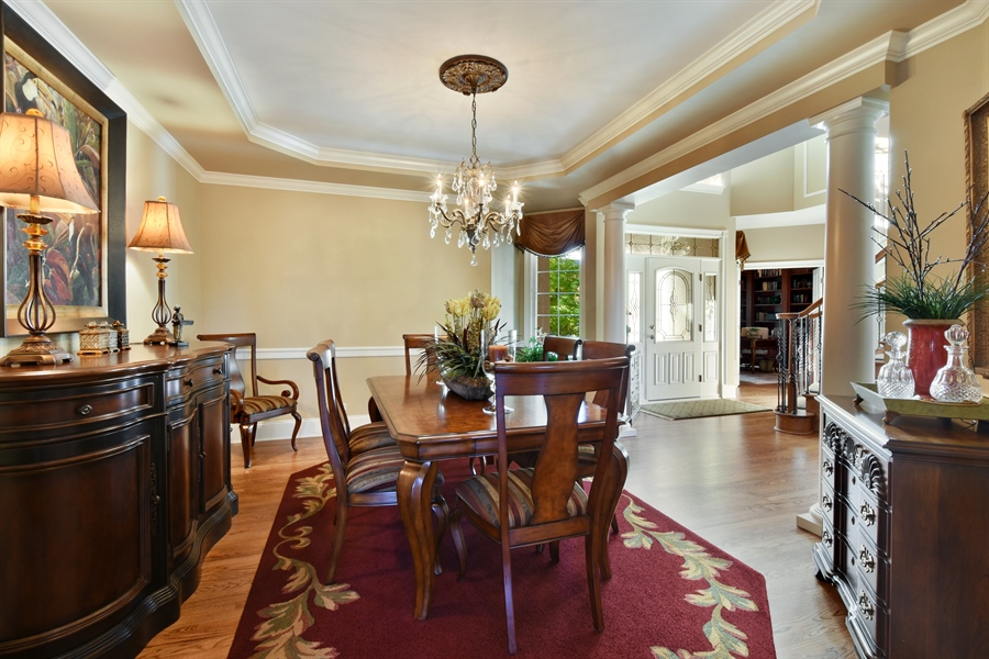 Real Estate Photography - 1012 Ridgeview Drive, Inverness, IL, 60010 - Dining Room