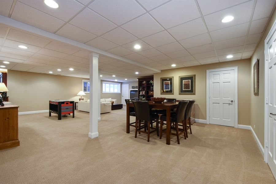 Real Estate Photography - 1012 Ridgeview Drive, Inverness, IL, 60010 - Basement