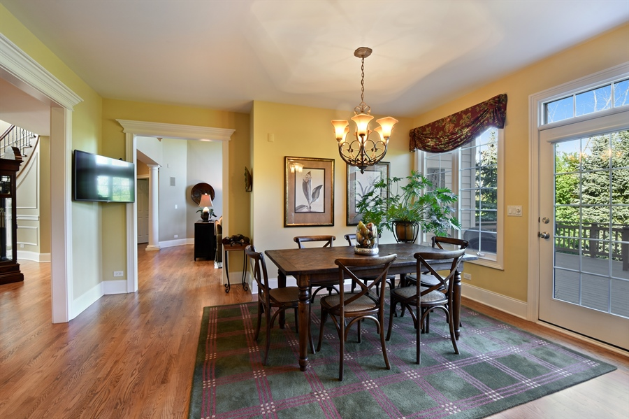 Real Estate Photography - 1012 Ridgeview Drive, Inverness, IL, 60010 - Breakfast Area