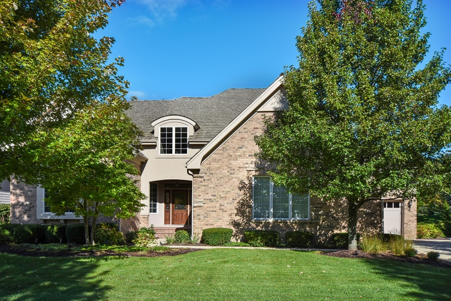 Real Estate Photography - 1012 Ridgeview Drive, Inverness, IL, 60010 - Front View