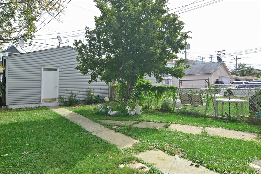 Real Estate Photography - 2431 N. Monticello, Chicago, IL, 60647 - Back Yard