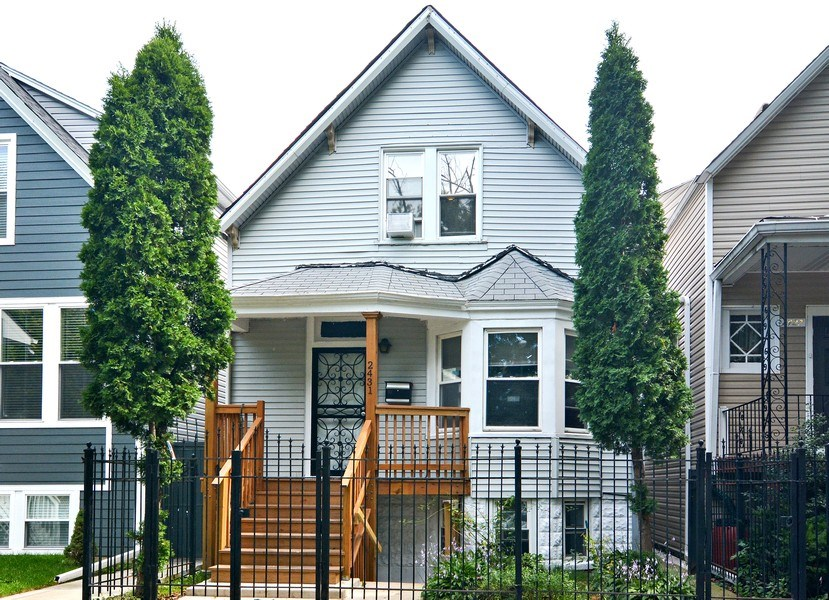 Real Estate Photography - 2431 N. Monticello, Chicago, IL, 60647 - Front View