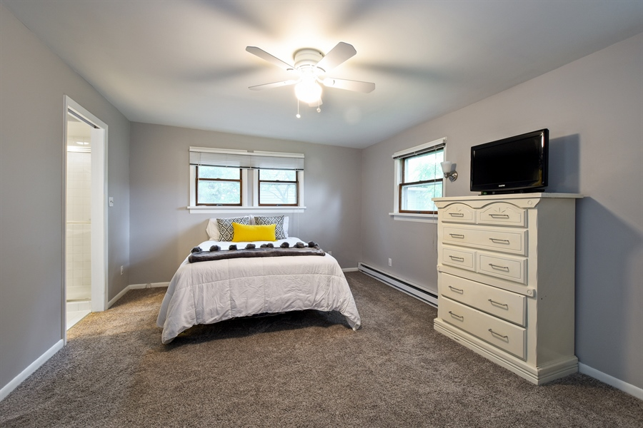 Real Estate Photography - 22 Pamela, Lake Zurich, IL, 60047 - Master Bedroom