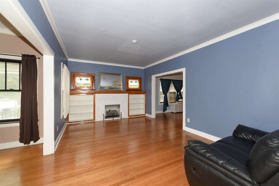 Real Estate Photography - 4206 N. Mozart, Chicago, IL, 60618 - Living Room