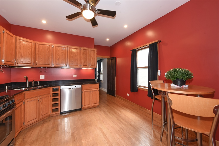 Real Estate Photography - 4206 N. Mozart, Chicago, IL, 60618 - Kitchen