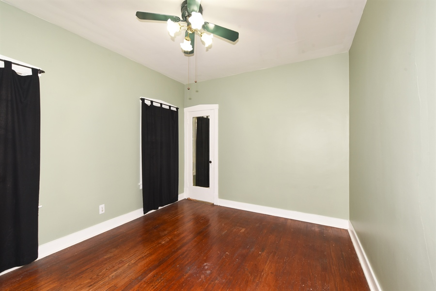 Real Estate Photography - 4206 N. Mozart, Chicago, IL, 60618 - Bedroom