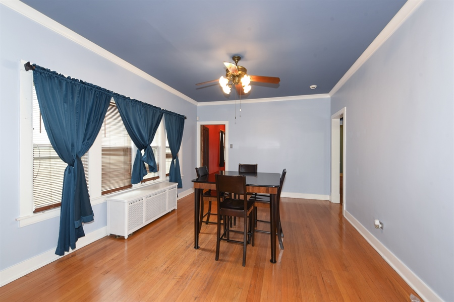 Real Estate Photography - 4206 N. Mozart, Chicago, IL, 60618 - Dining Room