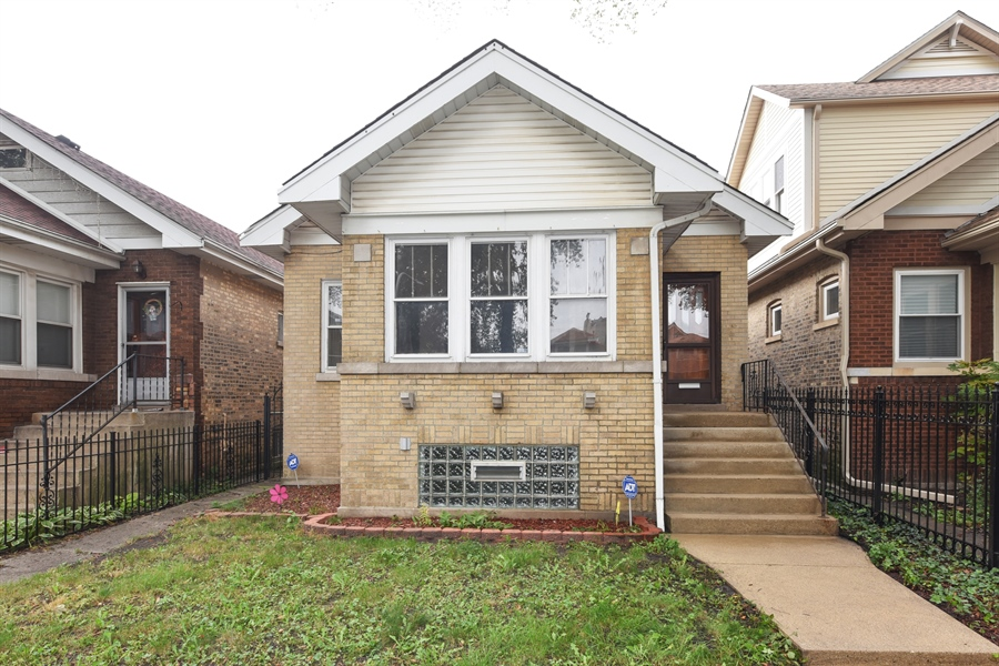 Real Estate Photography - 4206 N. Mozart, Chicago, IL, 60618 - Front View