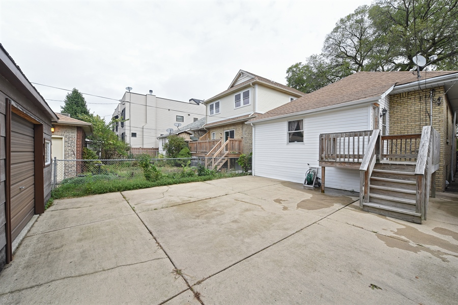 Real Estate Photography - 4206 N. Mozart, Chicago, IL, 60618 - Patio