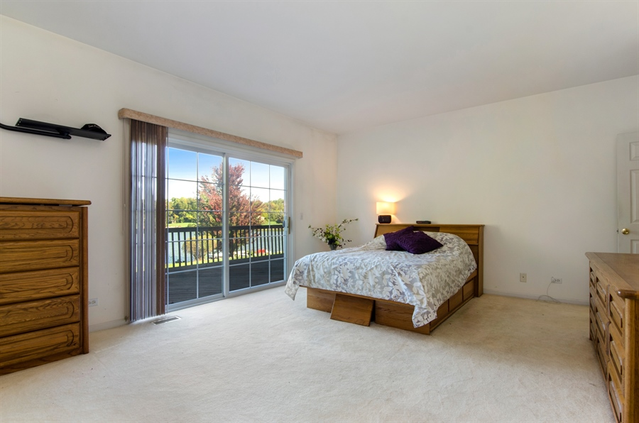 Real Estate Photography - 3013 Raccoon Cove, Island Lake, IL, 60042 - Master Bedroom