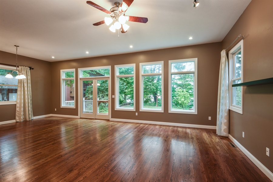 Real Estate Photography - 9871 Lakeview Drive, Berrien Springs, MI, 49103 - Living Room