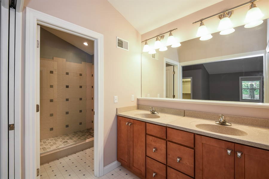 Real Estate Photography - 9871 Lakeview Drive, Berrien Springs, MI, 49103 - Master Bathroom
