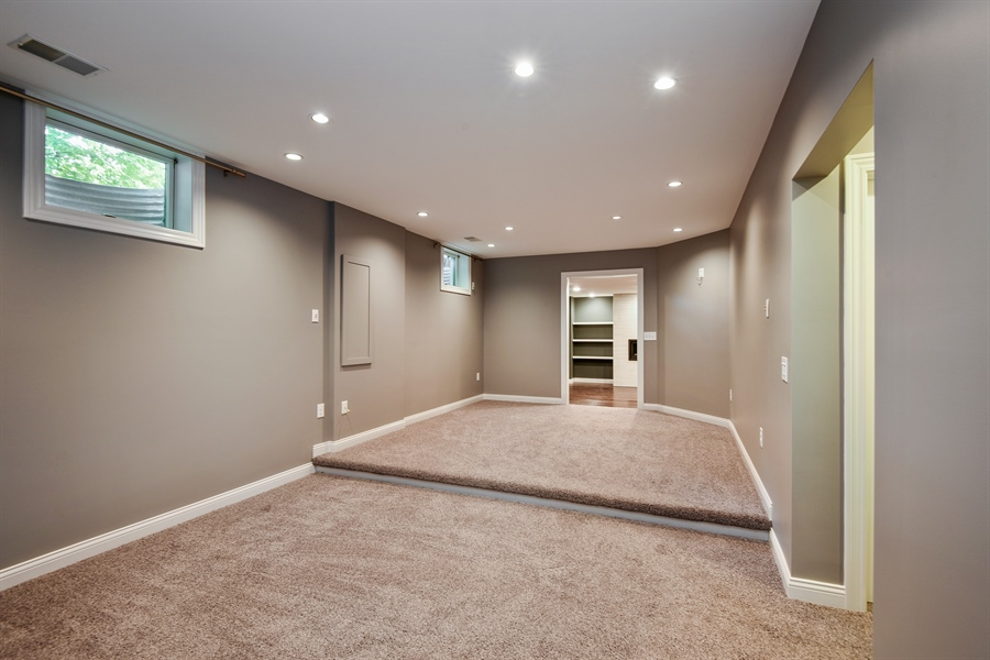 Real Estate Photography - 9871 Lakeview Drive, Berrien Springs, MI, 49103 - Media Room