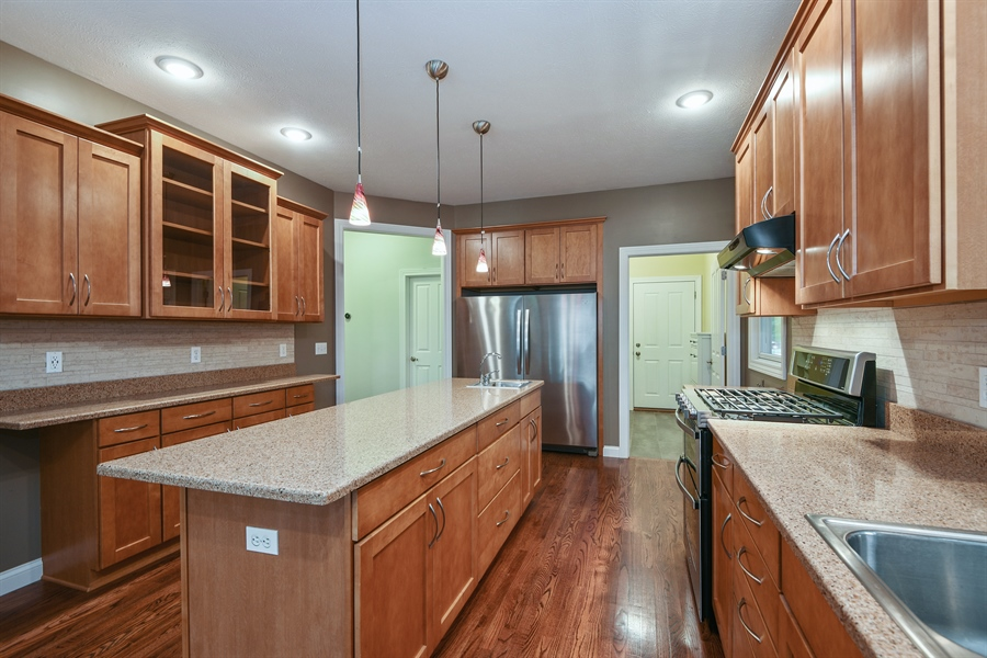 Real Estate Photography - 9871 Lakeview Drive, Berrien Springs, MI, 49103 - Kitchen