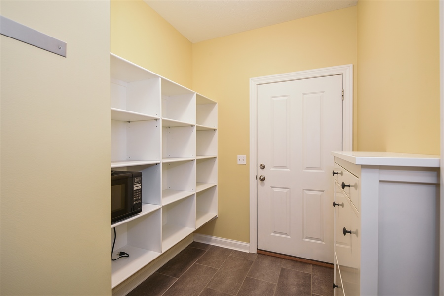 Real Estate Photography - 9871 Lakeview Drive, Berrien Springs, MI, 49103 - Mudroom