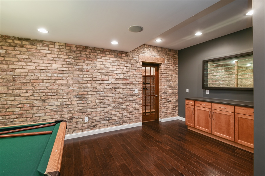 Real Estate Photography - 9871 Lakeview Drive, Berrien Springs, MI, 49103 - Wine Cellar