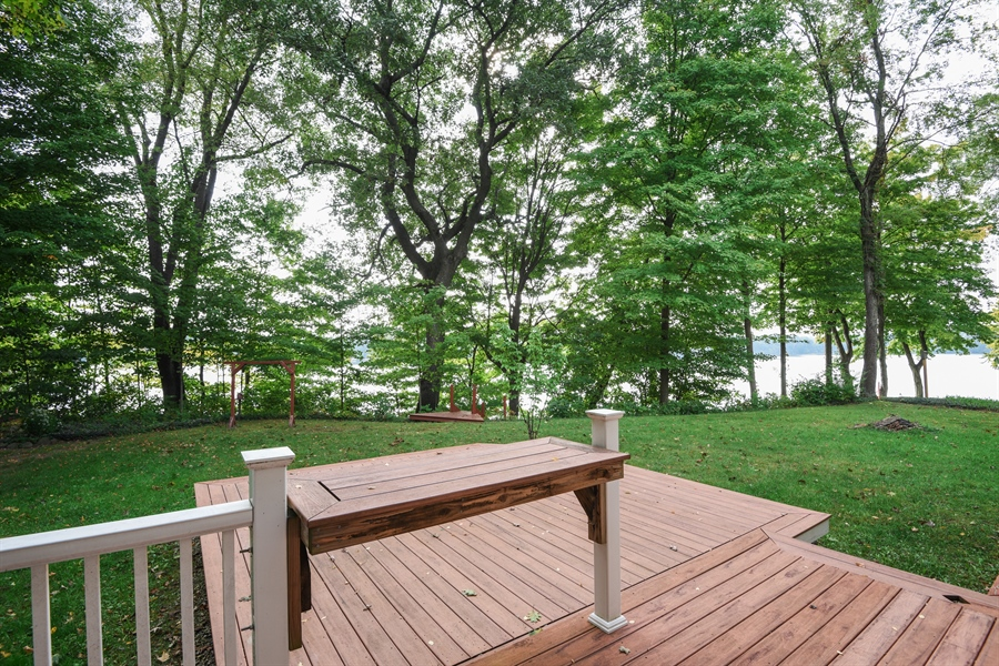 Real Estate Photography - 9871 Lakeview Drive, Berrien Springs, MI, 49103 - Rear View