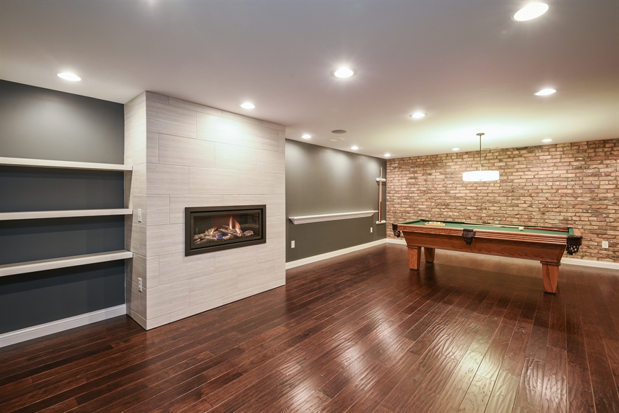 Real Estate Photography - 9871 Lakeview Drive, Berrien Springs, MI, 49103 - Pool Room