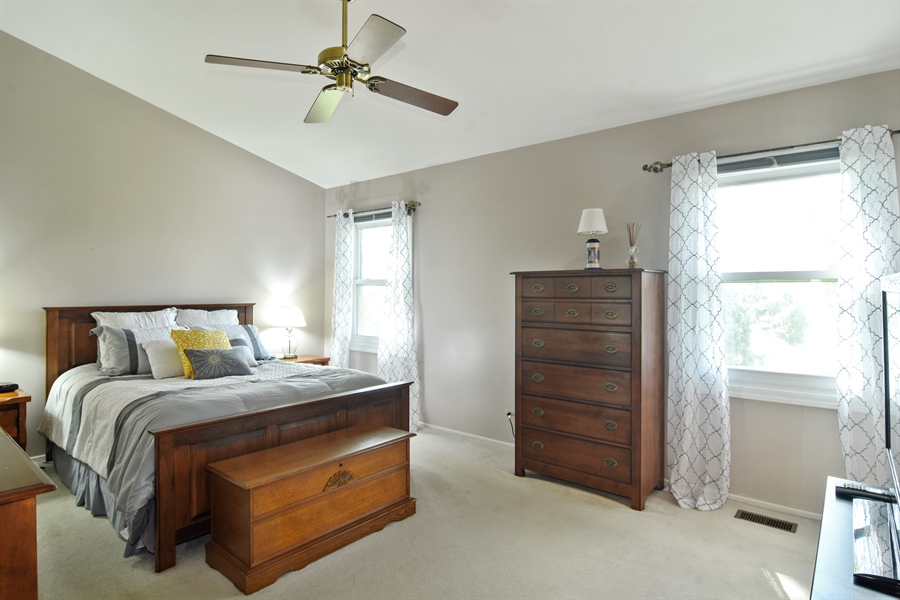 Real Estate Photography - 2417 Fabish Ct, Schaumburg, IL, 60193 - Master Bedroom