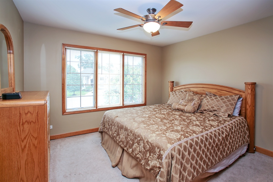 Real Estate Photography - 280 Forest Drive, Addison, IL, 60101 - 3rd Bedroom