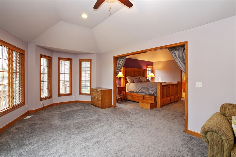 Real Estate Photography - 280 Forest Drive, Addison, IL, 60101 - Master Bedroom