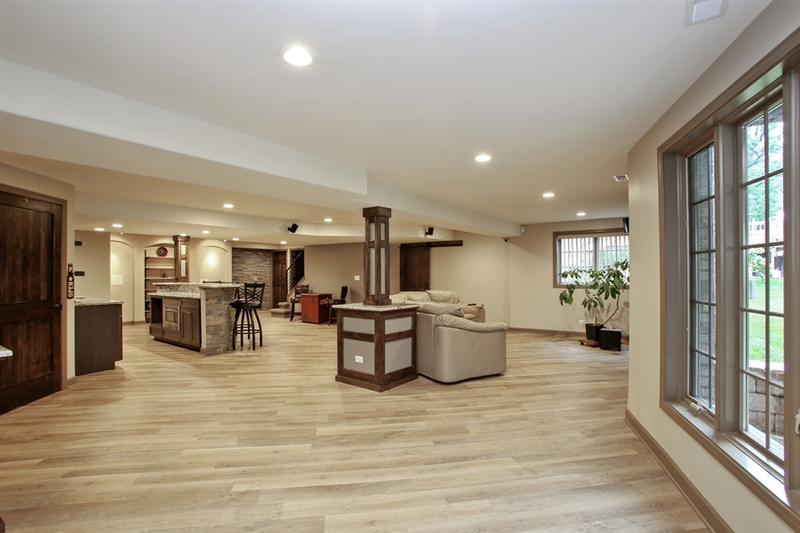 Real Estate Photography - 280 Forest Drive, Addison, IL, 60101 - Basement