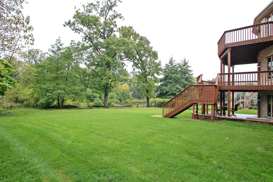 Real Estate Photography - 280 Forest Drive, Addison, IL, 60101 - Back Yard