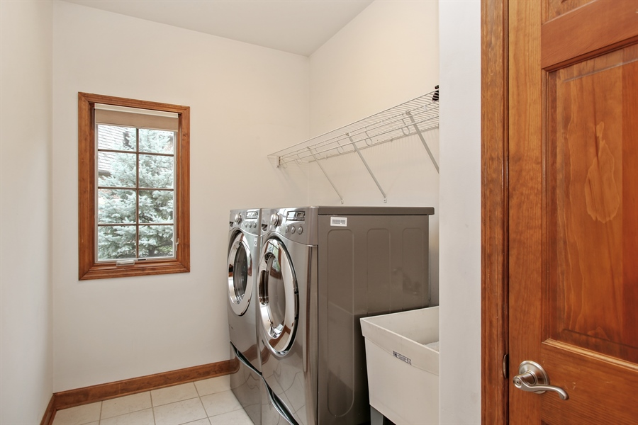 Real Estate Photography - 280 Forest Drive, Addison, IL, 60101 - Laundry Room