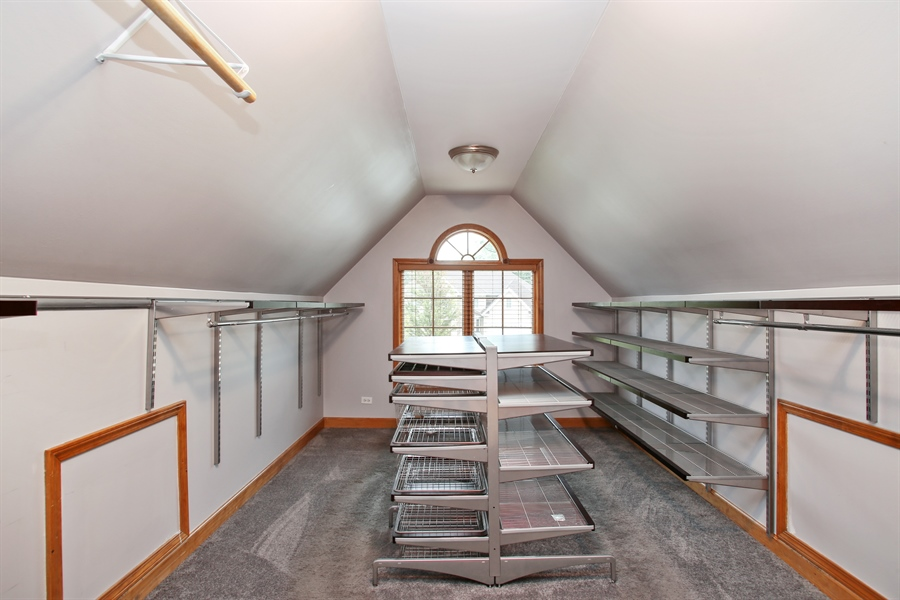 Real Estate Photography - 280 Forest Drive, Addison, IL, 60101 - Closet