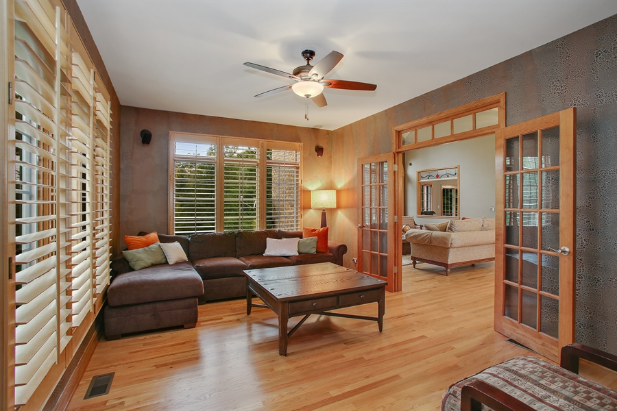 Real Estate Photography - 280 Forest Drive, Addison, IL, 60101 - Den