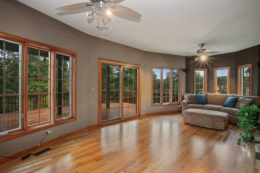 Real Estate Photography - 280 Forest Drive, Addison, IL, 60101 - Sun Room
